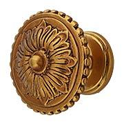 Sonata Flower Cabinet Knob - 1 1/4