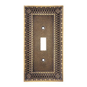 Decorative Victorian Switch Plate