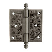 3 1/2  Windsor Door Hinge in Lacquered Iron  sc 1 st  House of Antique Hardware & Windsor Collection | Eastlake Style Hardware u0026 Lighting | House of ...