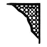 Miniature Cast Iron Shelf Bracket - 4