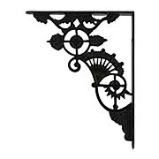 Ornate Cast Iron Shelf Bracket - 11
