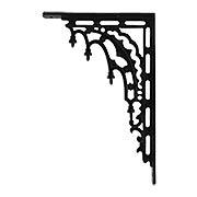 Gothic Revival Iron Bracket - 12 1/8