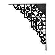 Trellis & Vine Iron Shelf Bracket  - 9 1/8