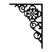 Small Pennsylvania-Dutch Design Shelf Bracket - 6 5/8