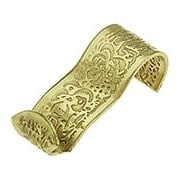 Ornate Floral Pattern Picture Rail Hook (item #R-010MG-055X)