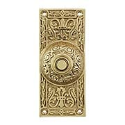 Large Victorian Solid-Brass Doorbell Button (item #R-010MG-314X)