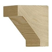 Small Hemlock Craftsman Corbel 2 3/4