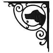 Dogs Head Cast Iron Shelf Bracket - 10