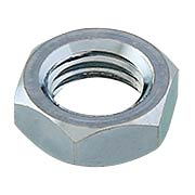 Zinc plated Steel Nut for Spindles 3/8-Inch 20-TPI (item #R-01BM-8662)