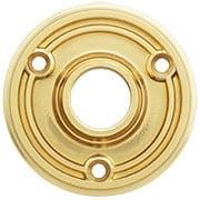 Solid-Brass  Doorknob Rosette - 2 1/4