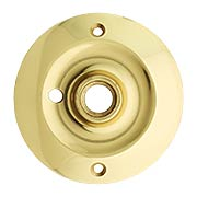 Extra Large Forged Brass Privacy Rosette - 3 1/4