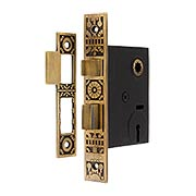 Windsor Pattern Mortise Lock - 2 1/4