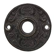 Joplin Cast-Iron Rosette (item #R-01MG-CI197X)