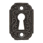 Joplin Cast-Iron Keyhole Cover (item #R-01MG-CI198X)