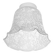 Victorian Lace-Filigree Fixture Shade with 2 1/4