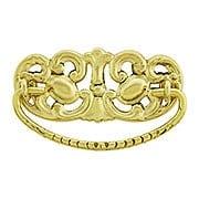 Open Design Brass Bail Pull - 3