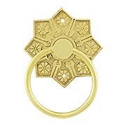 Eastlake Star Pattern Ring Pull (item #R-08BM-1259X)