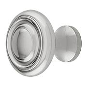 Brass Ringed Knob - 1-Inch Diameter (item #R-08BM-1432X)
