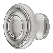 Brass Ringed Knob - 1 1/4-Inch Diameter (item #R-08BM-1433X)