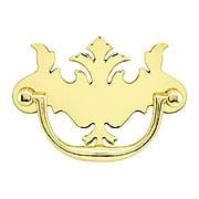 English Chippendale Brass Bail Pull - 3