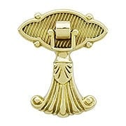 Regency Pendant Pull In Unlacquered Brass (item #R-08BM-1471-1480)