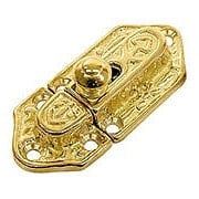 Brass Cupboard Slide Latch (item #R-08BM-1610-PB)