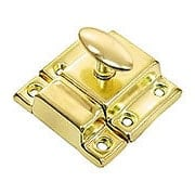 Small Stamped Steel Cabinet Latch With Plated Finish (item #R-08BM-1617X)