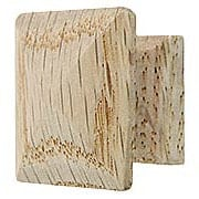 Solid Oak Pyramid Cabinet Knob (item #R-08BM-4201X)