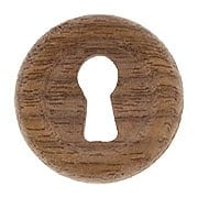 Walnut Furniture Keyhole Cover (item #R-08BM-4347X)