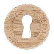 Red Oak Furniture Keyhole Cover (item #R-08BM-4367X)