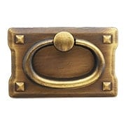 Small Mission-Style Horizontal Drawer Pull (item #R-08BM-6017X)