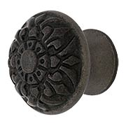 Cast Iron Fleur-de-Lis Knob with 1 1/4