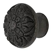 Cast Iron Fleur-de-Lis Knob with 1 1/2