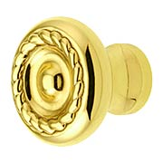 Small Rope Design Cabinet Knob - 1 1/8