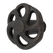 Pinwheel Cast-Iron Cabinet Knob - 1 5/8