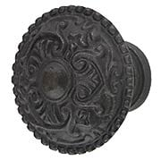 Heart Design Cast-Iron Cabinet Knob (item #R-08MG-348X)