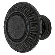 Egg & Dart Cast-Iron Cabinet Knob (item #R-08MG-352X)