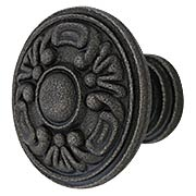 Decorative Victorian Cast-Iron Cabinet Knob (item #R-08MG-353X)