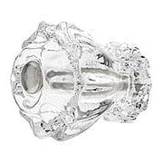 Medium Fluted Glass Cabinet Knob With Nickel Bolt (item #R-08MH-F125X)