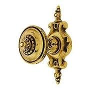 Portobello Jeweled Knob With Pembridge Back Plate (item #R-08NH-210-512X)