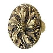Chrysanthemum Cabinet Knob - 1 3/8
