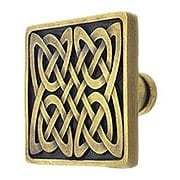 Celtic Isles Square Knob - 1 3/8