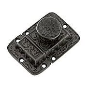 Cast Iron Butterfly Pattern Turn Latch In Antique Iron (item #R-08SE-0600024-AI)