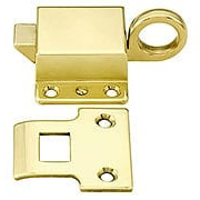 Solid Brass Transom Window Latch With Choice of Finish (item #R-09BM-8806X)