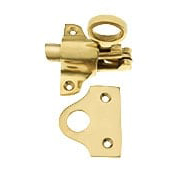 Solid Brass Transom Window Latch (item #R-09HU-PBFLCX)