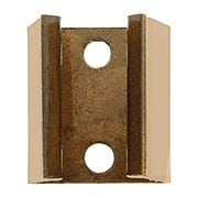 Copper Replacement Keeper for Shutter Bullet Catches (item #R-09JW-476)