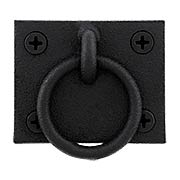 Stainless Steel Shutter Ring Pull With Black Powder-Coated Finish (item #R-09JW-550S)