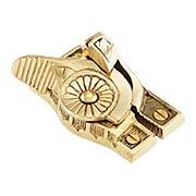 Solid Brass Victorian Sash Lock (item #R-09SB-4430)