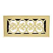 Stanford Solid-Brass Floor Register with Adjustable Damper (item #RS-010BA-A03-SRX)
