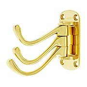Heavy Duty Solid Brass Swivel Hook (item #RS-010DH-TSH40X)